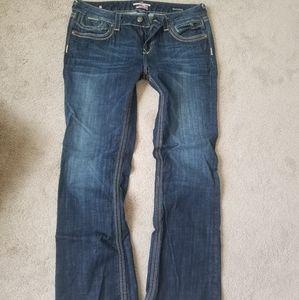 EXPRESS Rerock jeans size 14 short